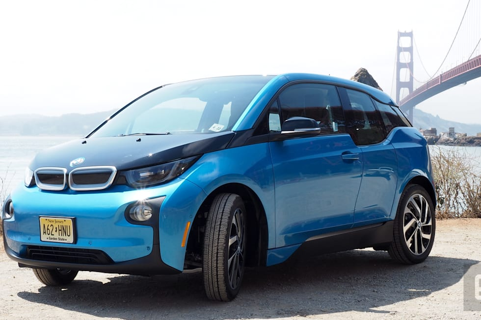 bmw s i3 is a long range concept car you can actually buy. Black Bedroom Furniture Sets. Home Design Ideas