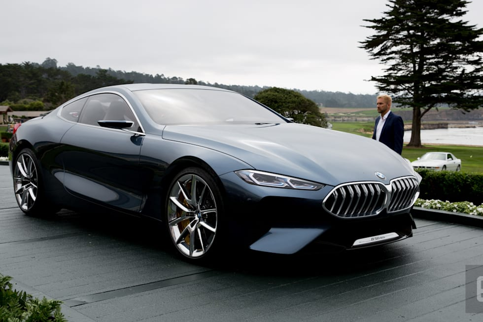 BMWs Redesigned Series Is Cleaner More Aggressive - 8 series bmw