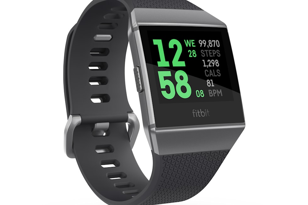 Fitbit Ionic smartwatch press images