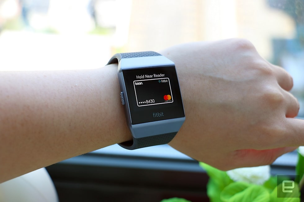 Fitbit Ionic smartwatch hands-on