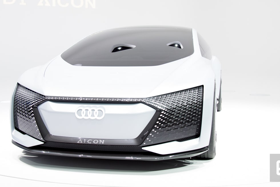 Audis Aicon Concept Car Is All About Autonomous Luxury - Audi concept