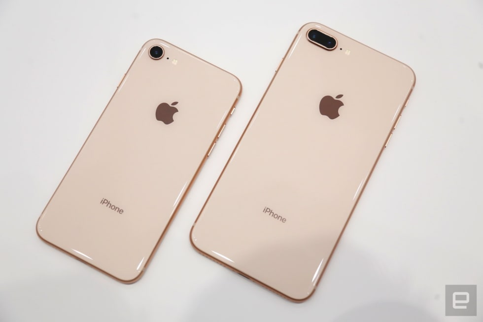 lowest price fcb3d af00c iPhone 8 and 8 Plus hands-on: Familiar, but not too familiar