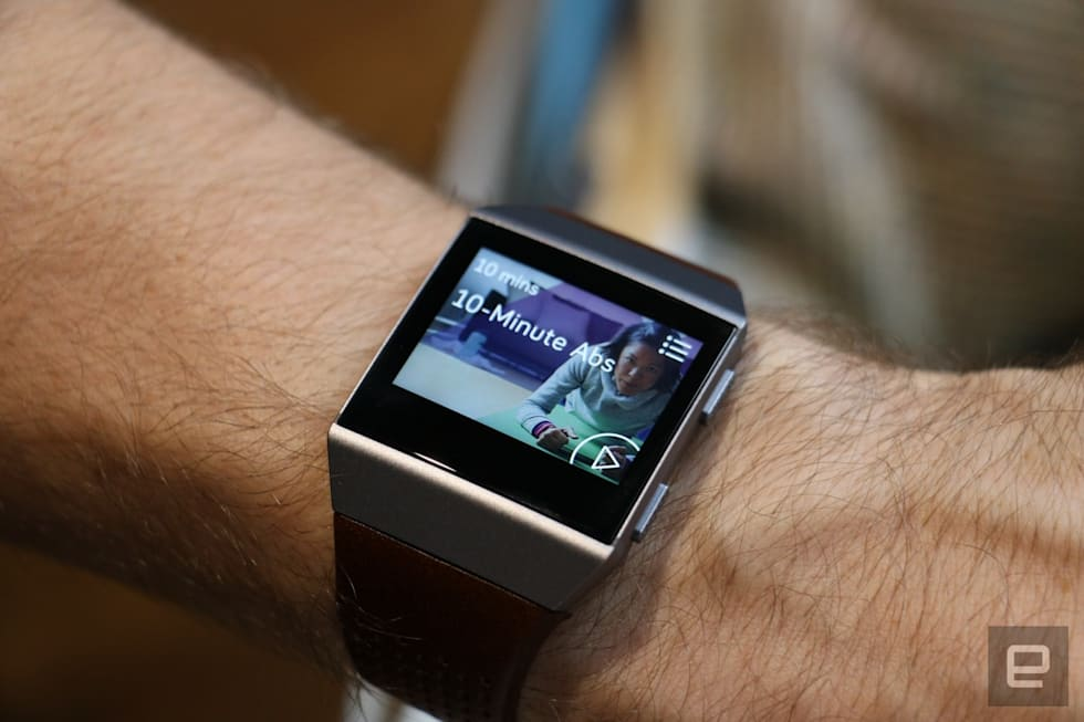 24 hours with Fitbit's first smartwatch