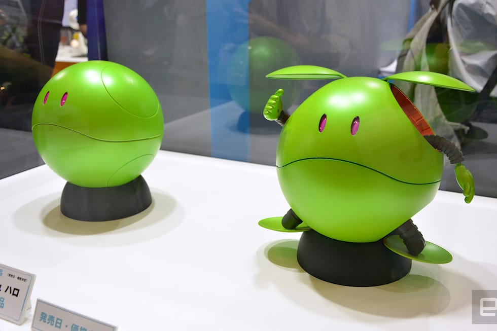 Gundam Concierge Haro at CEATEC 2017