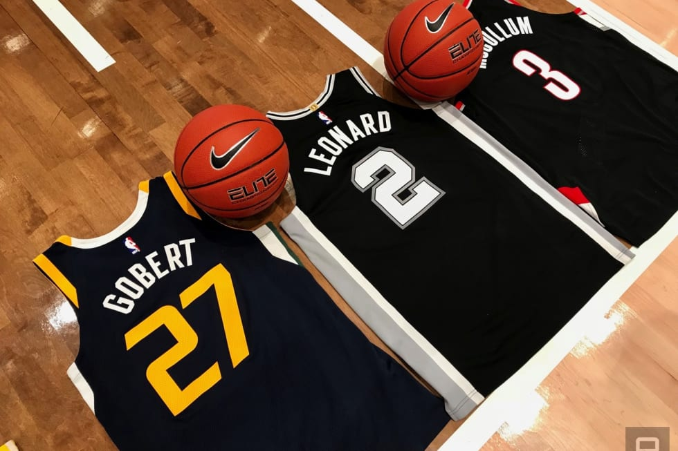 223cde795 Nike s NFC-powered NBA jerseys are a door to exclusive goods