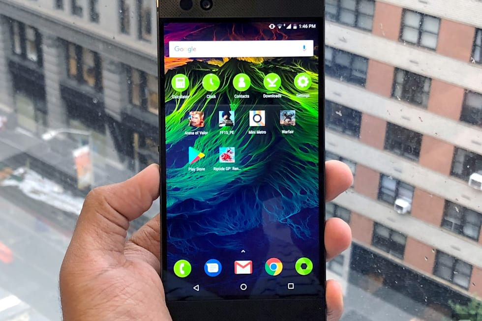 Hands-on with the Razer Phone