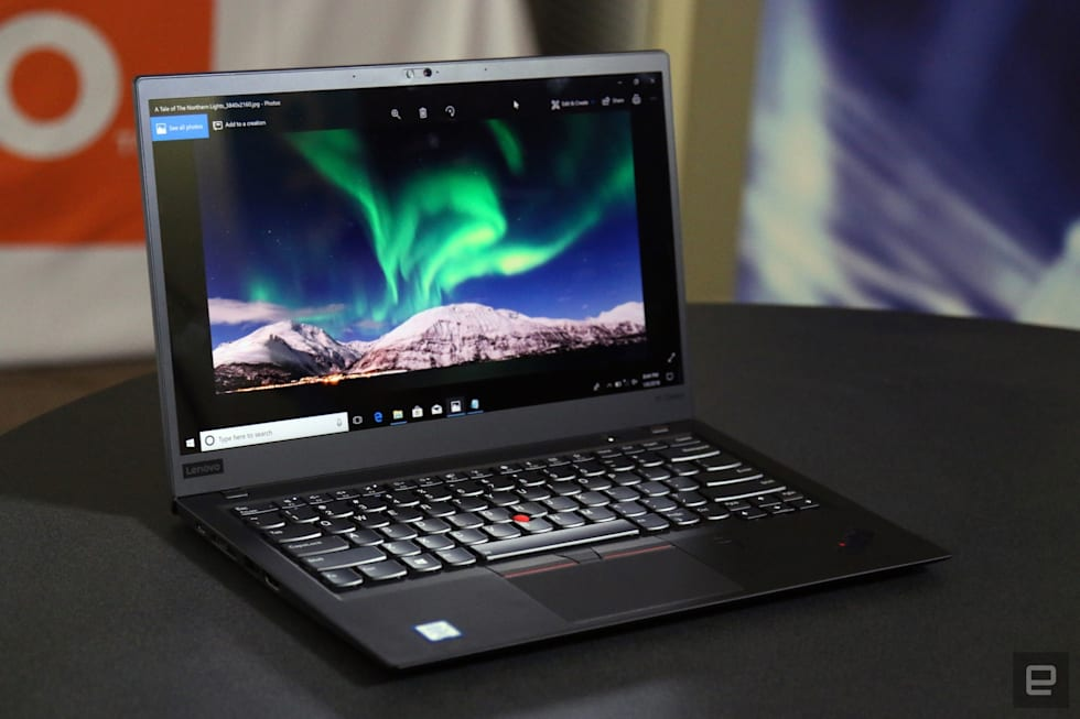 Hands-on with the Lenovo Thinkpad X1 Carbon (2018)