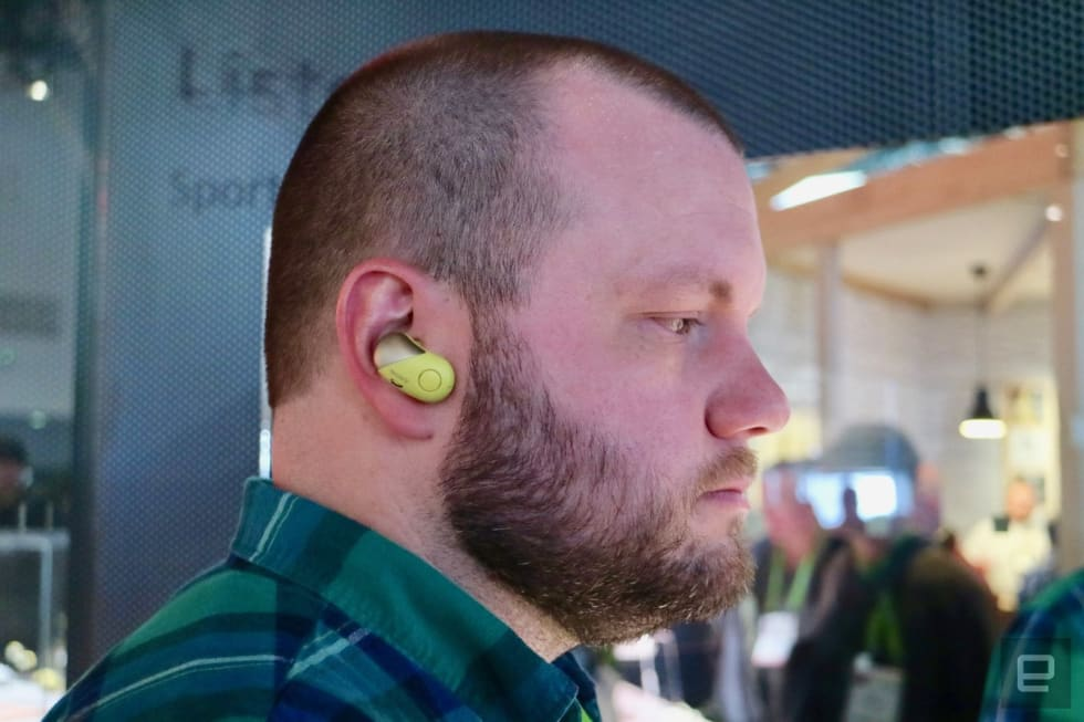 ea892e90be8 Sony's totally wireless sports earbuds are surprisingly good