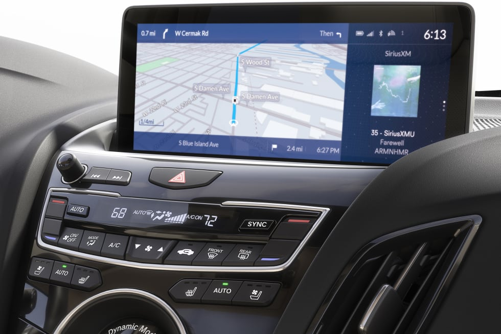 Acura puts its 'True Touchpad' Android UI in the 2019 RDX