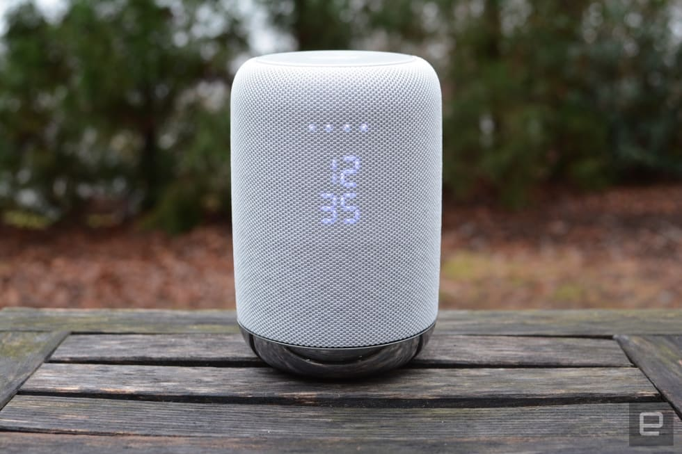 Sony LF-S50G smart speaker review: A solid Google Home