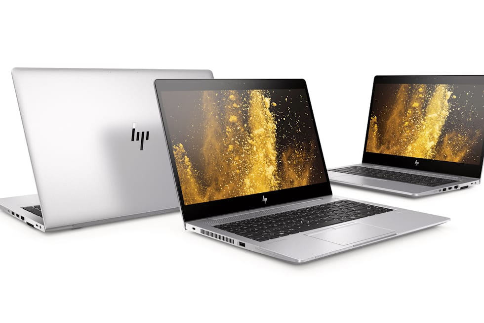 HP Elitebook 830, 840 and 850 G5 press pictures