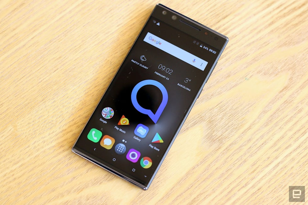 Hands-on with Alcatel's 5 and 3-series phones
