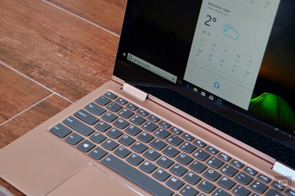 Lenovo's Yoga 730 is a cheaper 2-in-1 with Alexa support