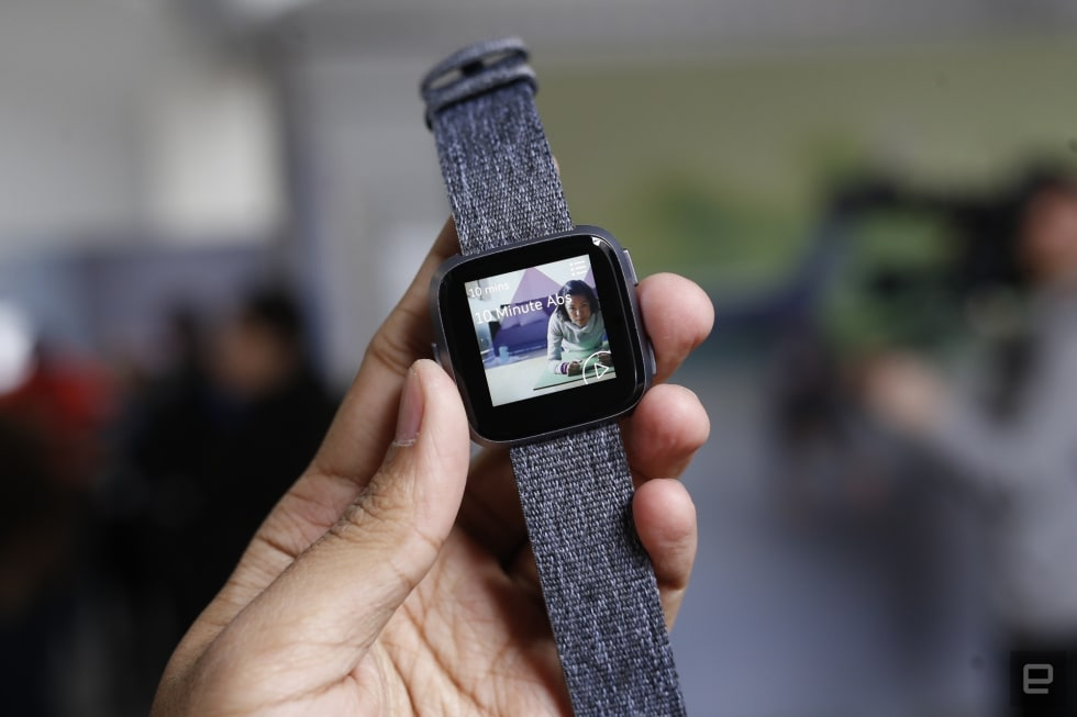 Fitbit's $200 Versa is a friendlier fitness smartwatch for the masses