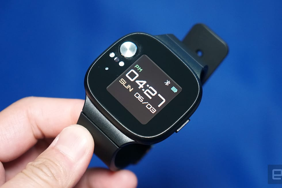 ASUS VivoWatch BP hands-on