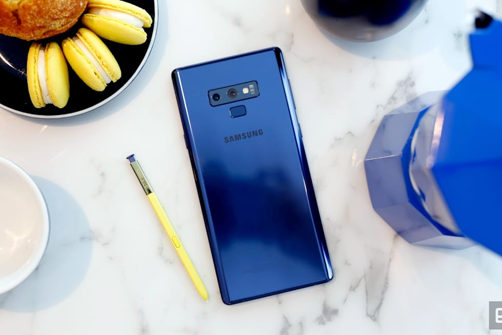 Hands-on with the Galaxy Note 9