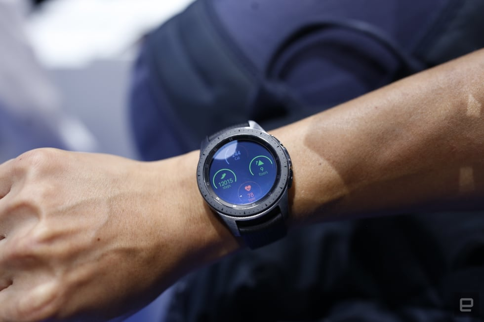Samsung Galaxy Watch hands-on