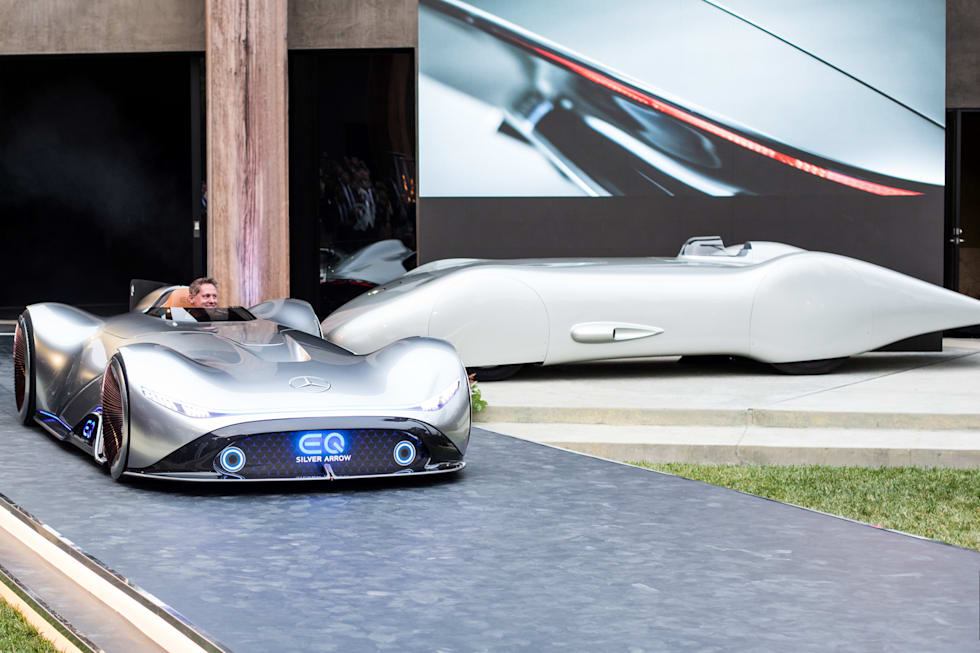 Gallery Mercedes Benz Eq Silver Arrow Concept 23 Photos