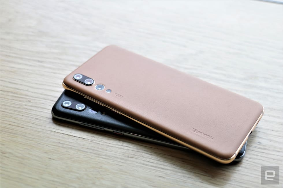Huawei P20 Pro in new colors and finishes