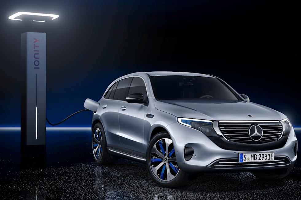 Gallery Mercedes Eqc Electric Suv 25 Photos