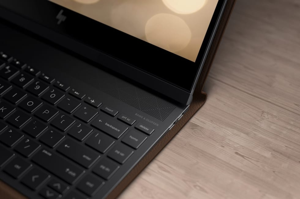 HP made a laptop out of leather