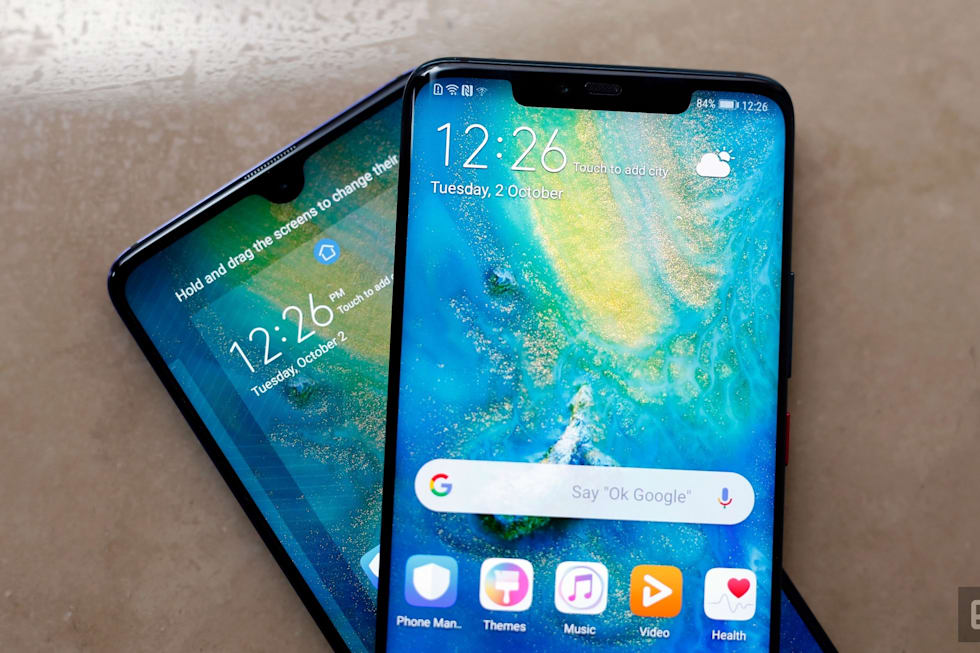 Huawei S Mate 20 Pro Can Wirelessly Charge Other Phones