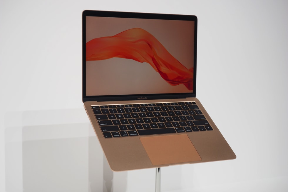 Hands-on with the 2018 MacBook Air