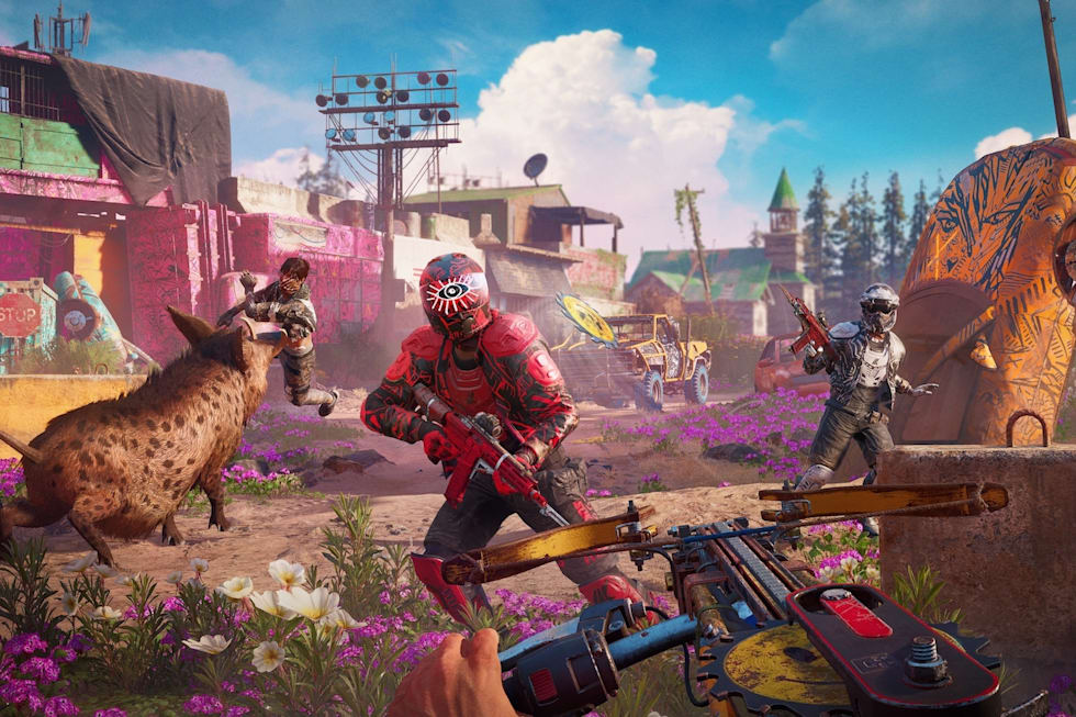 Far Cry New Dawn' turns Hope County into a nuclear wasteland