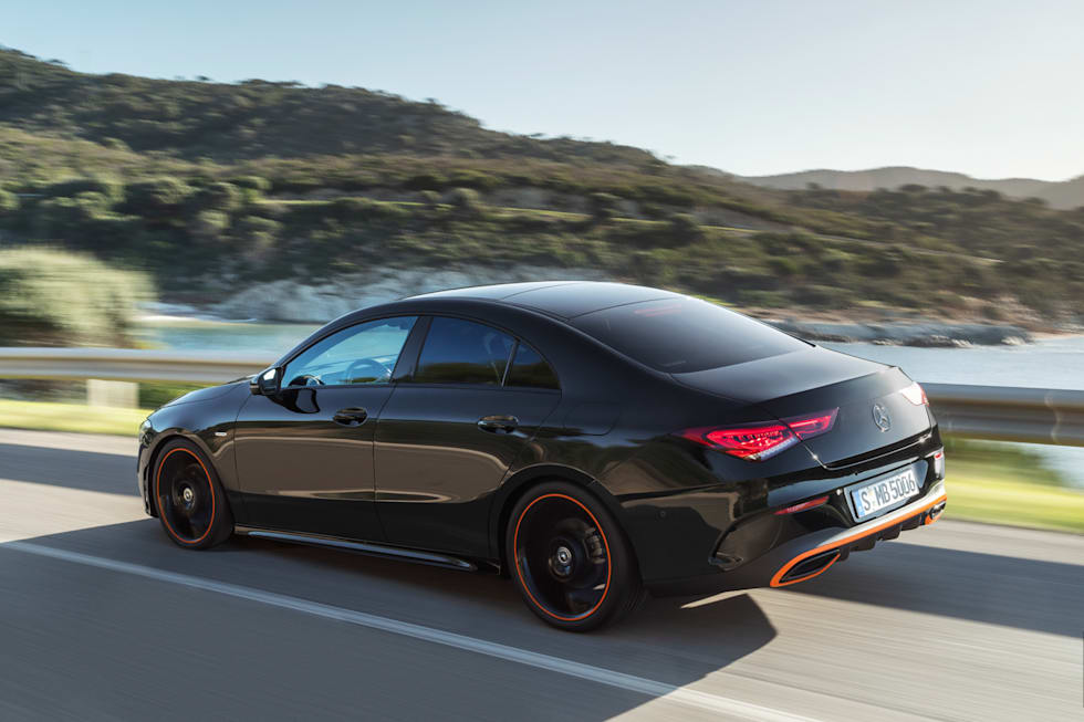 mercedes benz s new cla coupe responds to your gestures. Black Bedroom Furniture Sets. Home Design Ideas