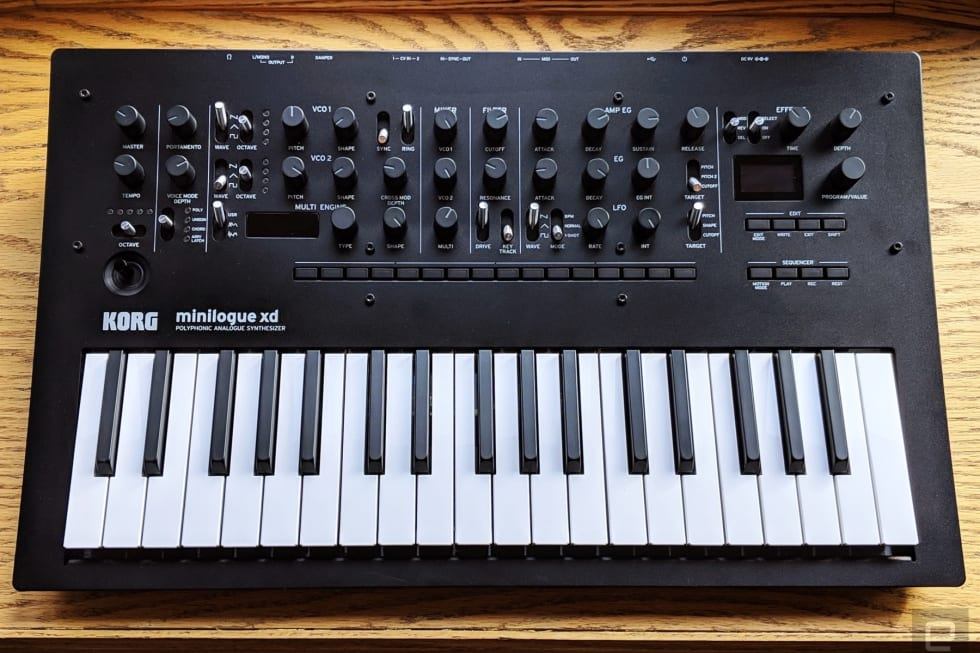 Korg Minilogue XD synthesizer review