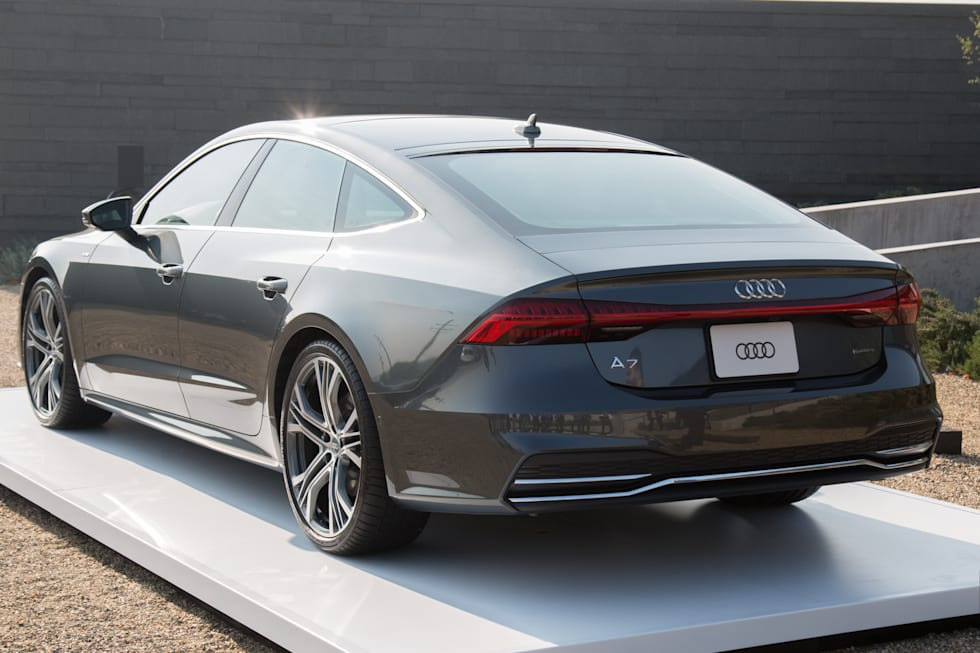 Audi Bets Youll Pay Extra For The A7s Design And Tech Upgrades
