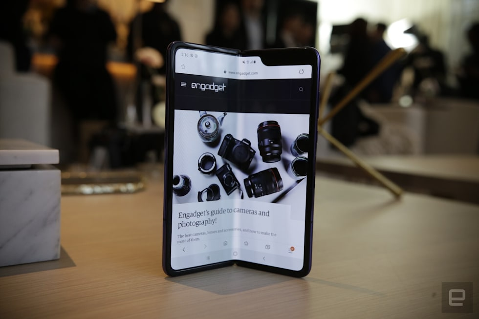 Samsung Galaxy Fold hands-on