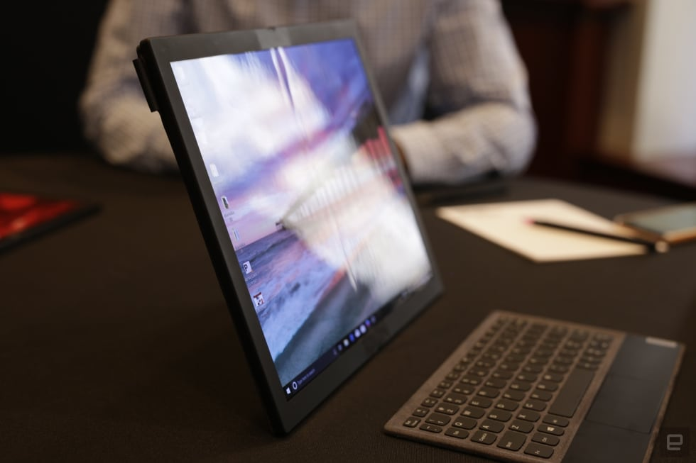 Lenovo is working on a ThinkPad with a foldable display