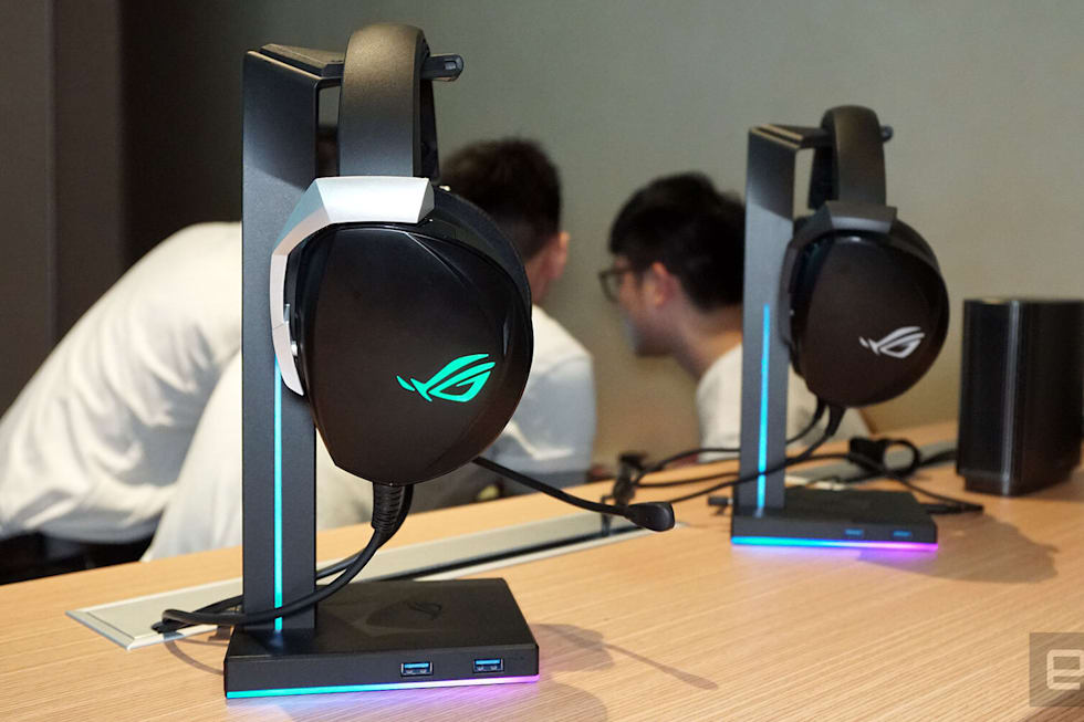 ASUS ROG Theta and Theta Electret gaming headphones