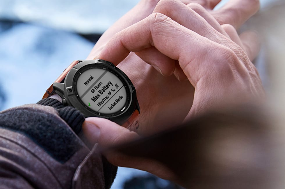 Garmin Fenix 6 watches