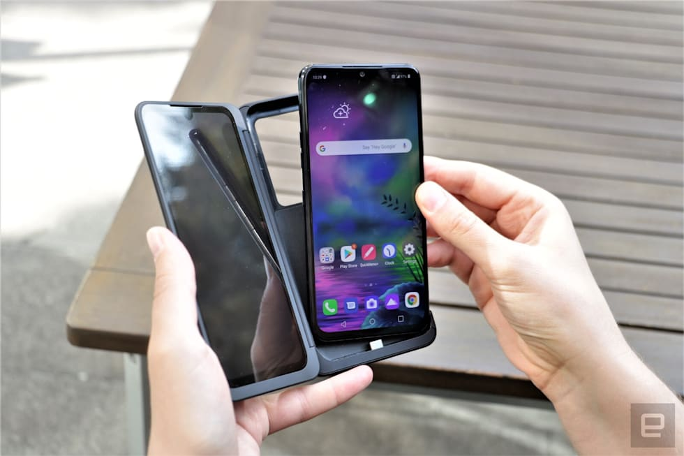 LG G8X ThinQ hands-on
