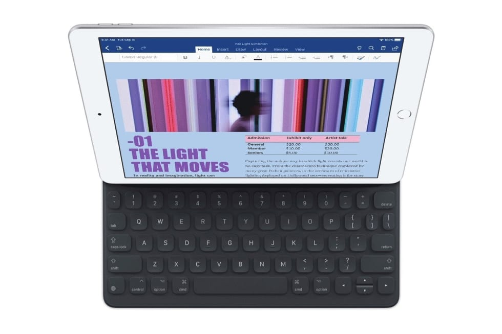 Apple's budget $329 iPad gets a 10 2-inch screen