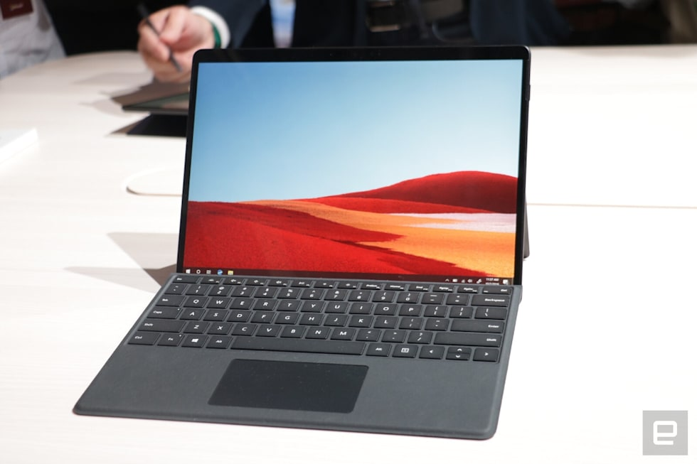 Microsoft Surface Pro X hands-on