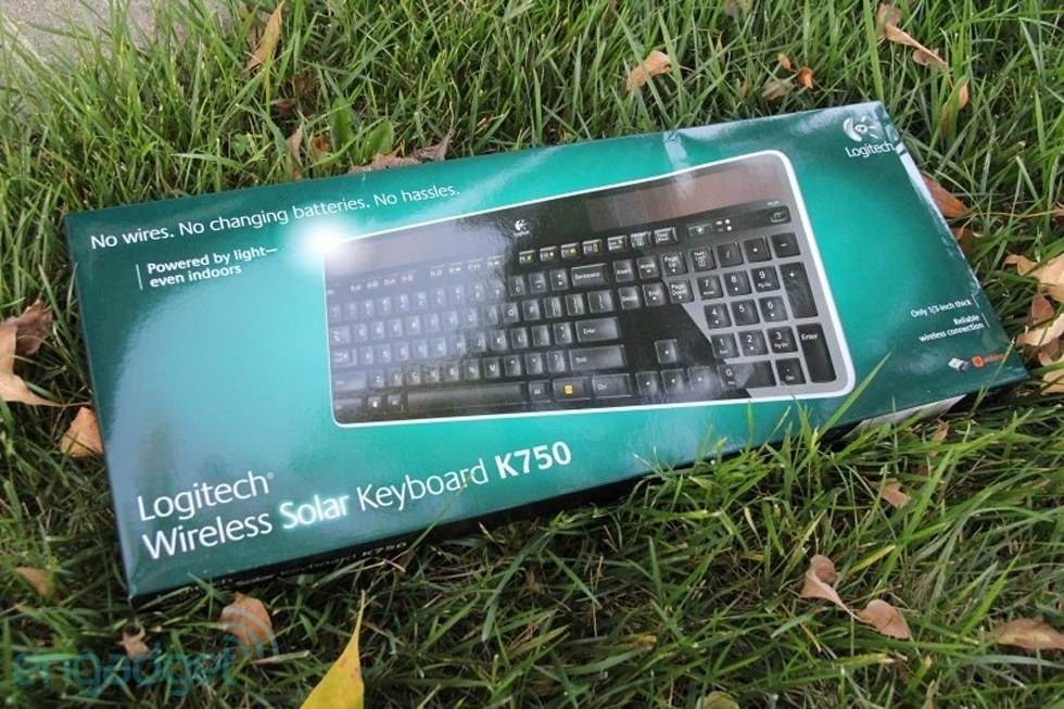 Logitech Unveils Wireless Solar Keyboard K750 Does Away With Batteries For Good Engadget