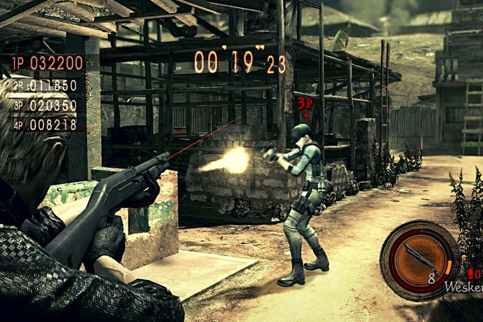 Joystiq Review Resident Evil 5 Versus Mode Dlc Engadget