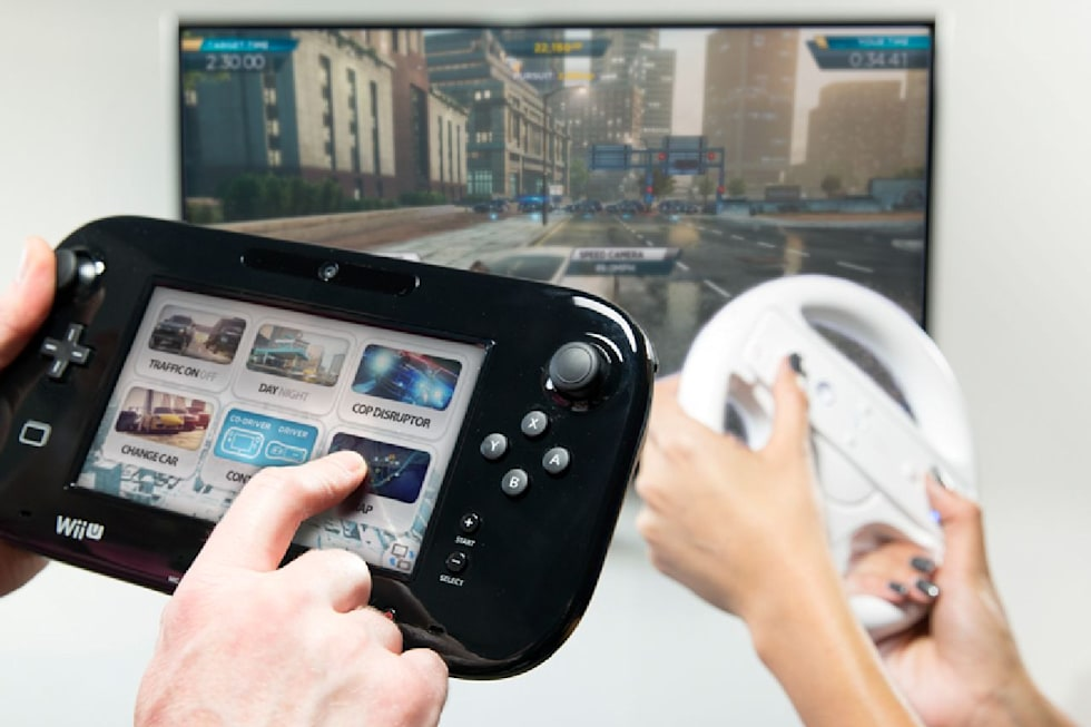 Co Driving Through Need For Speed Most Wanted On Wii U Engadget