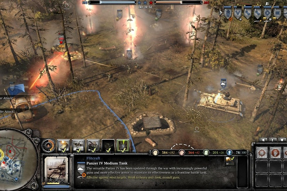 Company Of Heroes 2 Review Cold Front Engadget