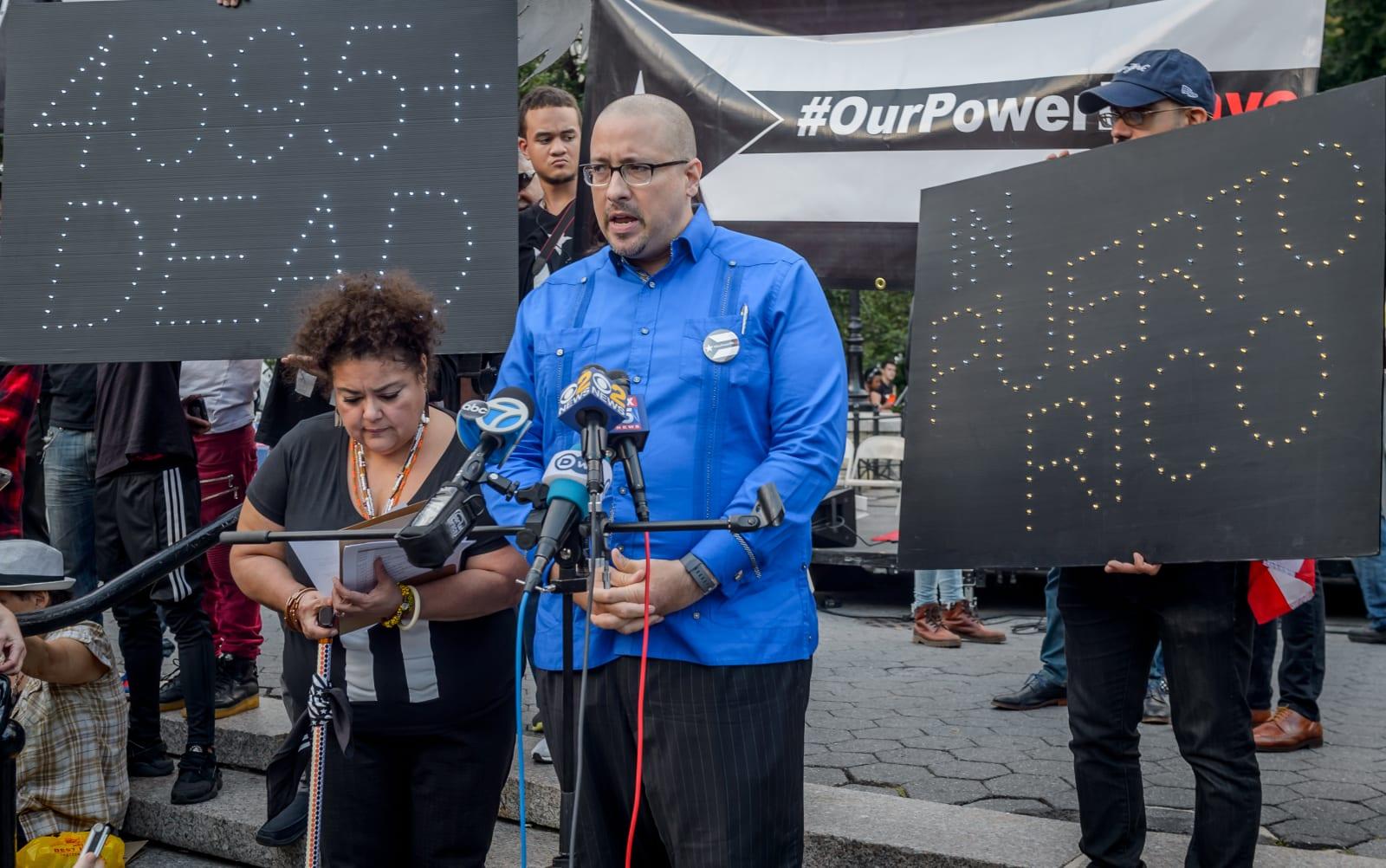 New York state senator Gustavo Rivera - On the one year...