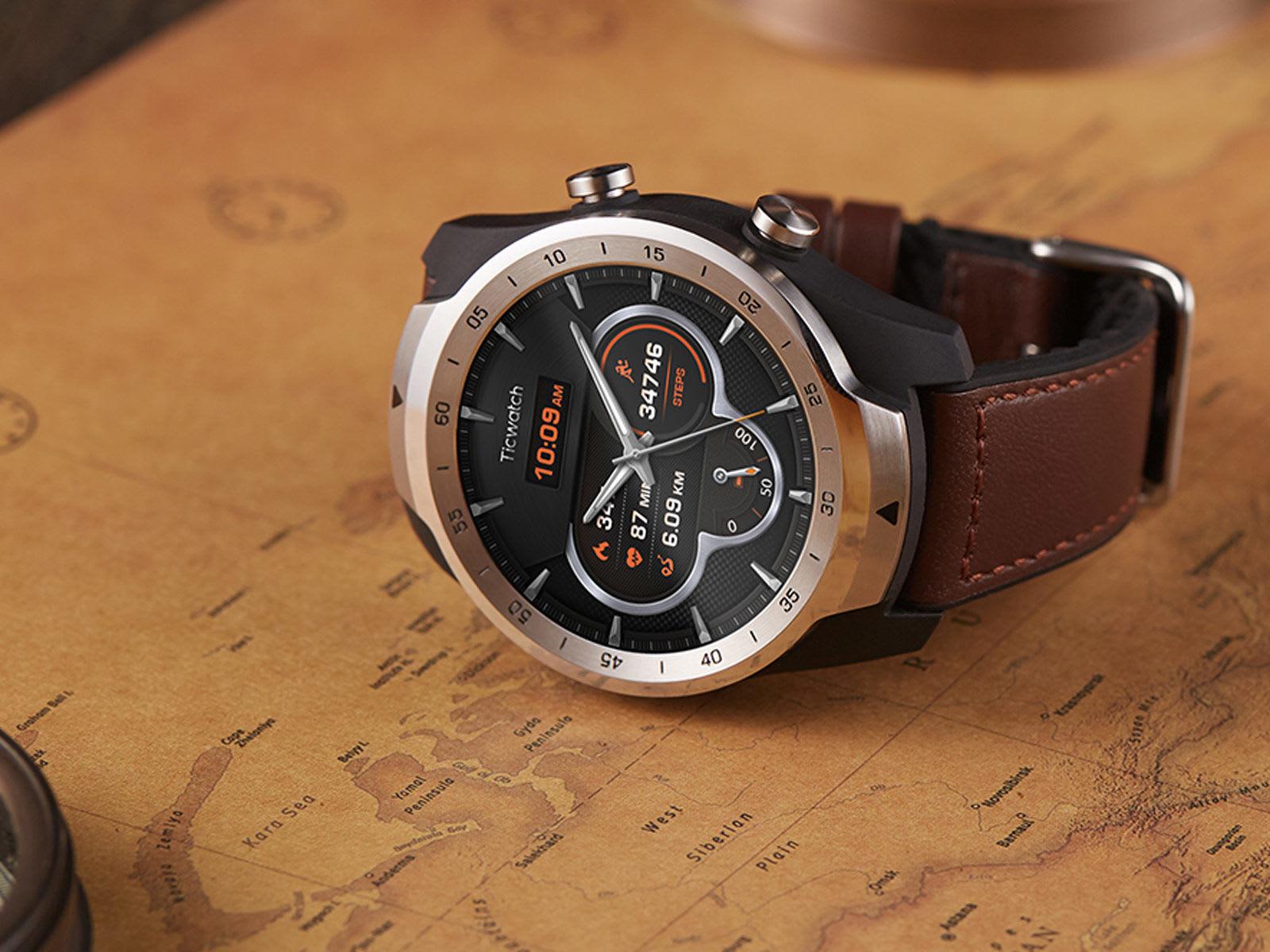 Movboi Ram倍増のスマートウォッチ Ticwatch Pro を海外発表 Engadget 日本版