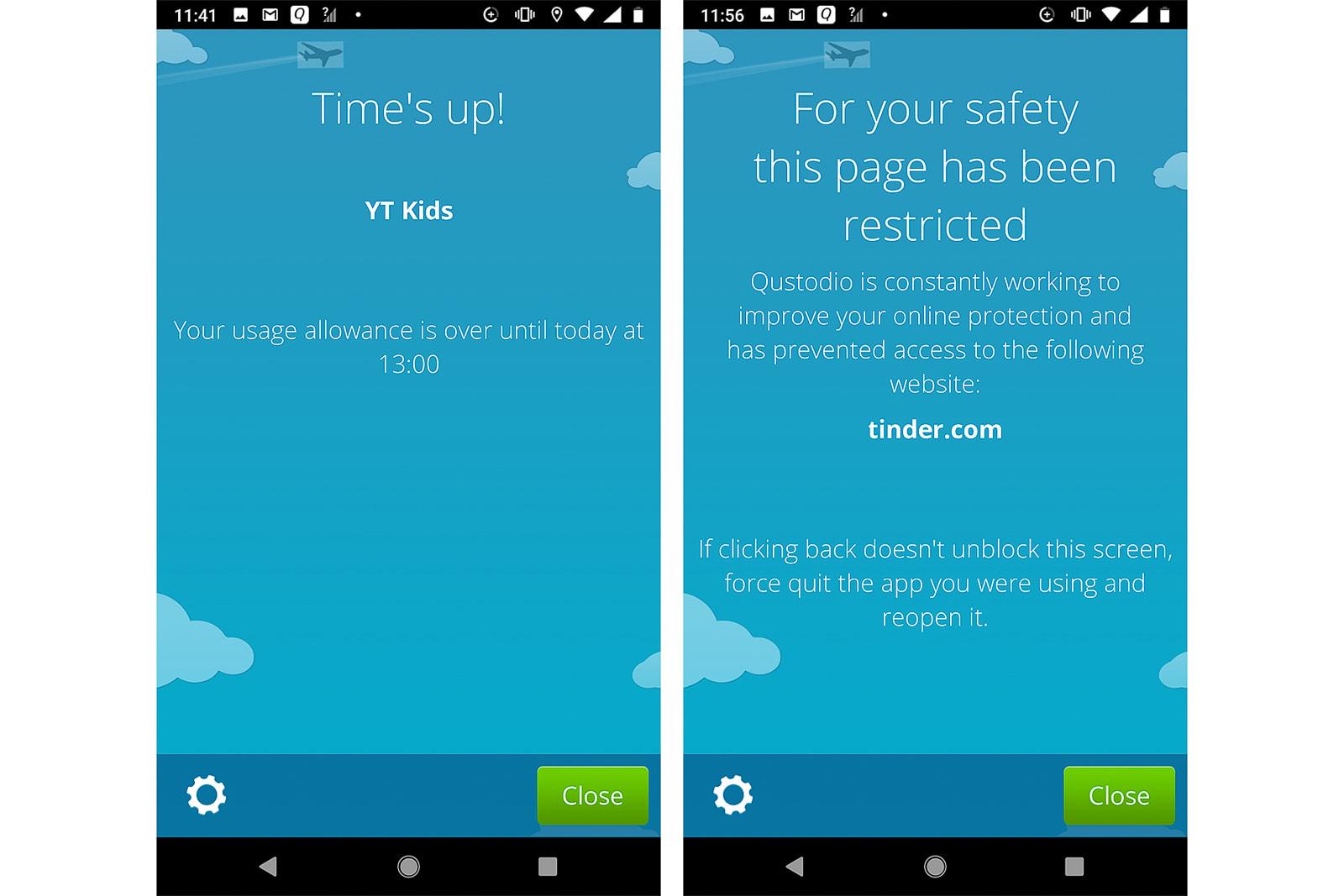 Apps for managing children's phones