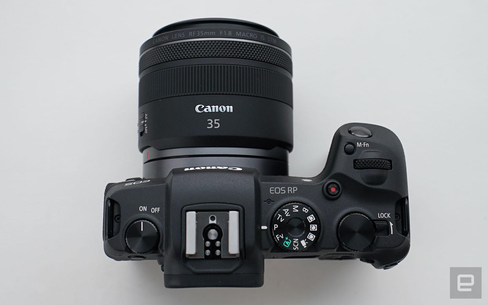 Canon EOS RP 香港动手玩