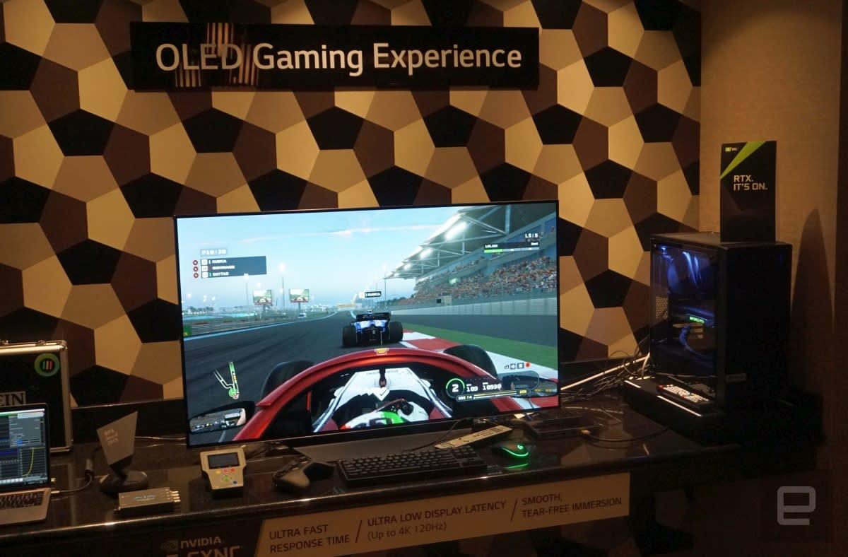 LG 48-inch OLED G-Sync Gaming