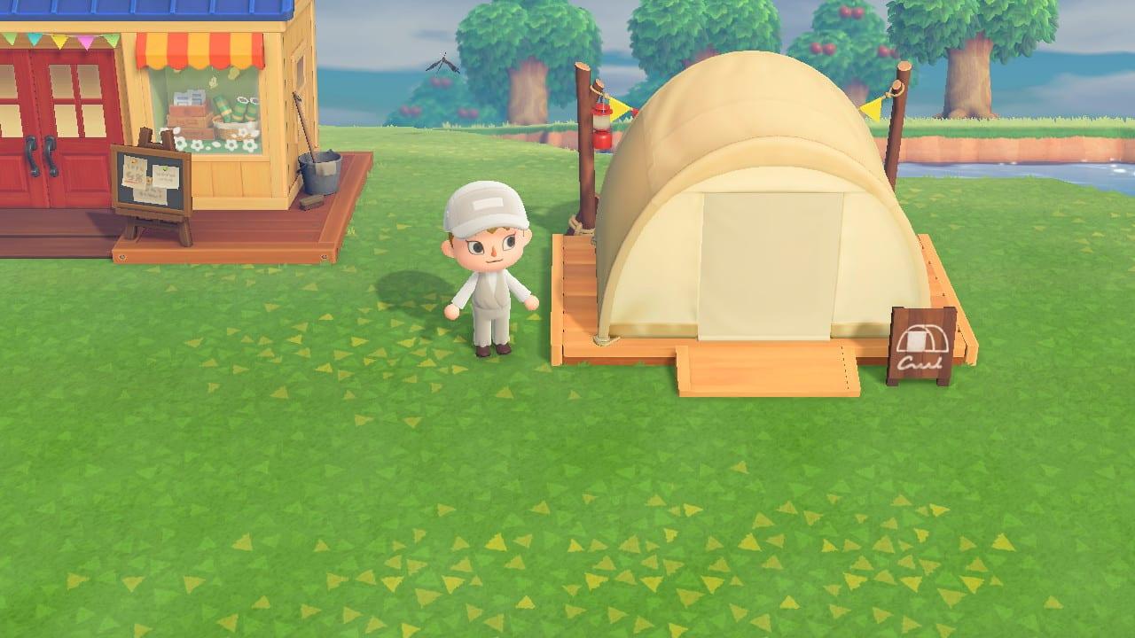 サイト キャンプ あつ 追い出す 森