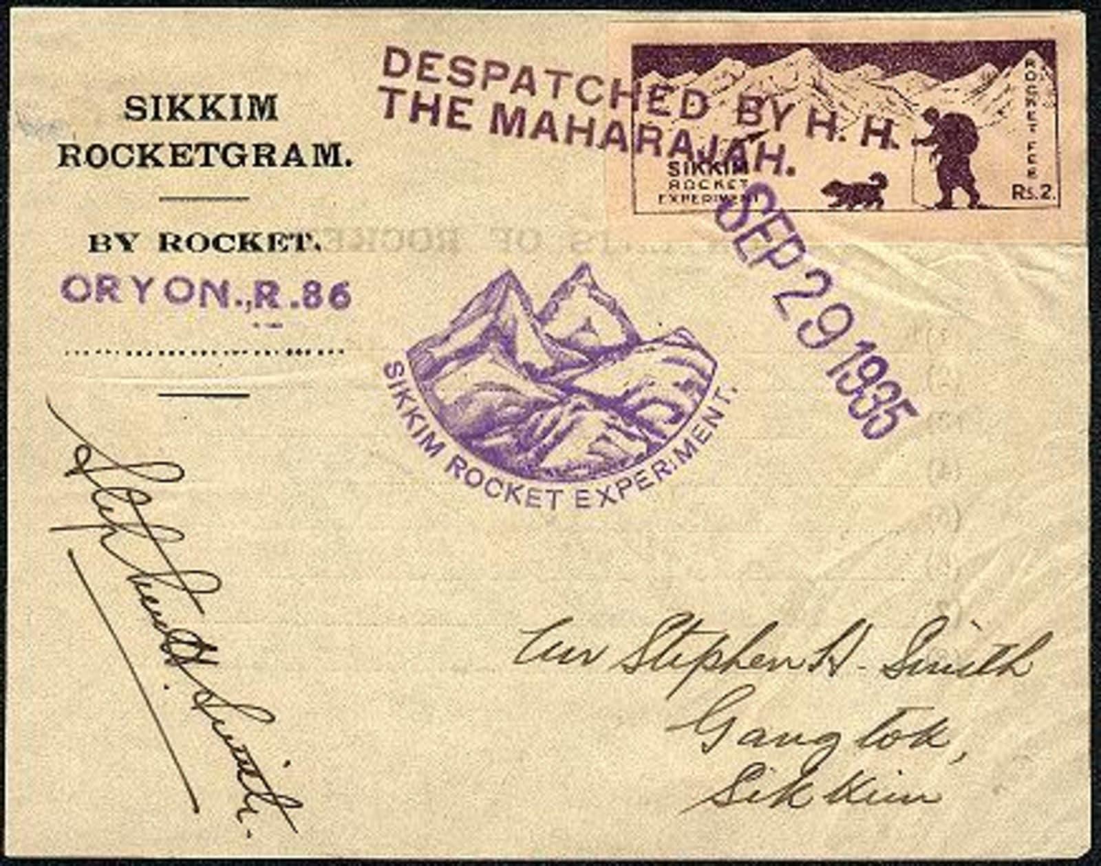Stephen Smith rocket mail