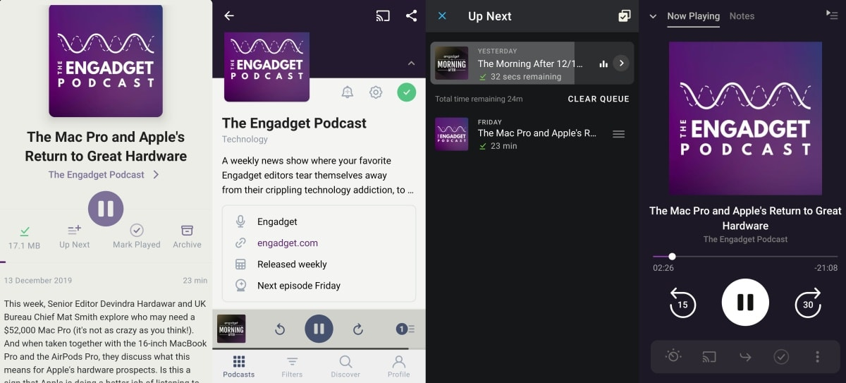 Engadget Pocket Casts